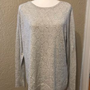 NWT Elle Gray Sweater